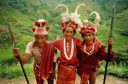 Smiling Ethnic Group in Cordillera :)