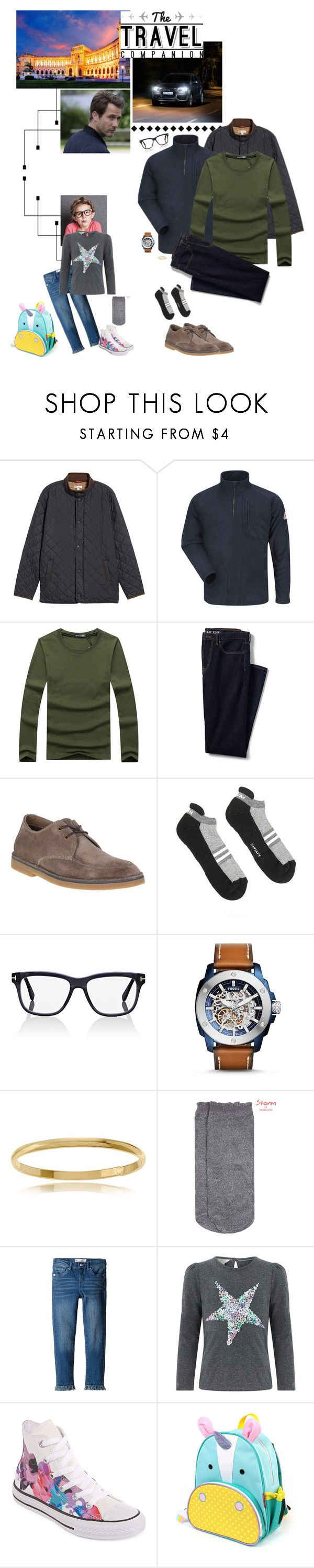 """""""(L) Road Trip - December 2017"""" by vanessa-von-osterreich ❤ liked on Polyvore featuring Peter Millar, Bulwark FR, Lands' End, Hush Puppies, Satisfy, Tom Ford, FOSSIL, Journee Collection, Lonely Planet and Monsoon"""