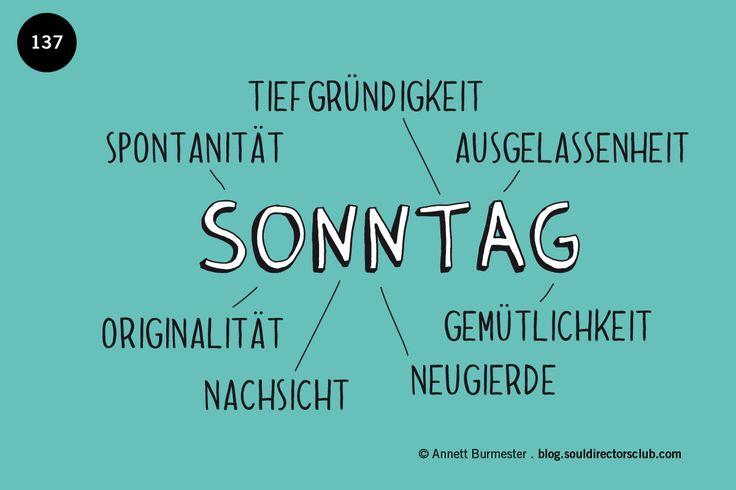 """Happy Sonntag!"""