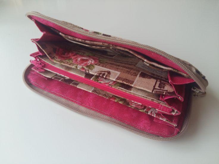 Šitá peněženka - vnitřek