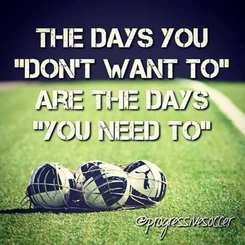 "Someone posted this quote in the ""Progressive Soccer Training Community"" Facebook group yesterday and I think it's something we can all relate to."
