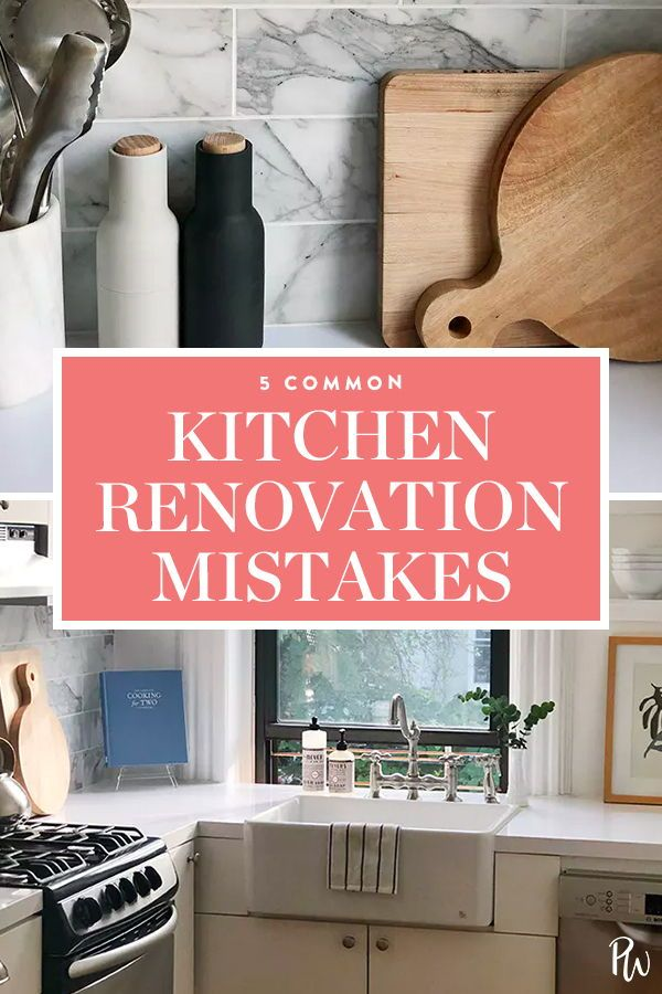 5 Mistakes I Made While Renovating My Kitchen Home Remodeling