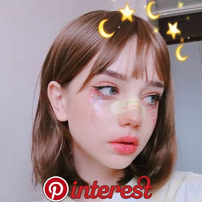Do U Wear A Makeup Ulzzang Kpop Siwonho Cr Ani Ya Cute Makeup Aesthetic Girl Kawaii Makeup