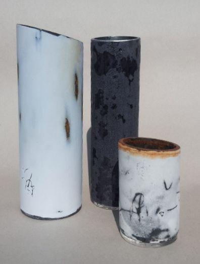enamel, steel, mark-making, environment, Cheryl van Goethem
