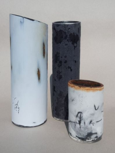 enamel, steel, mark-making, environment, Cheryl van Goethem