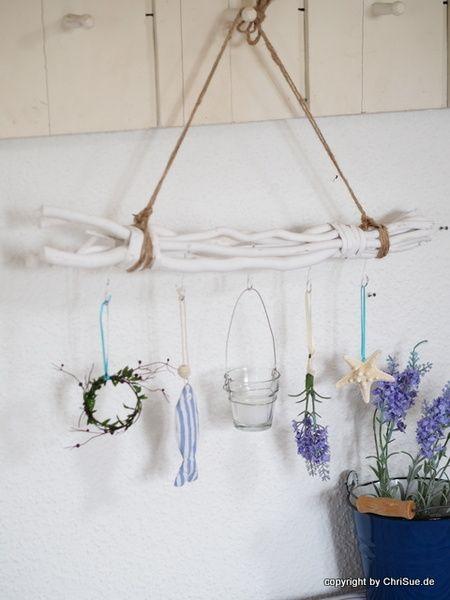 """Fensterdeko """"Fanö"""" von *ChriSue Haus- und Hofdekorationen* auf DaWanda.com"""