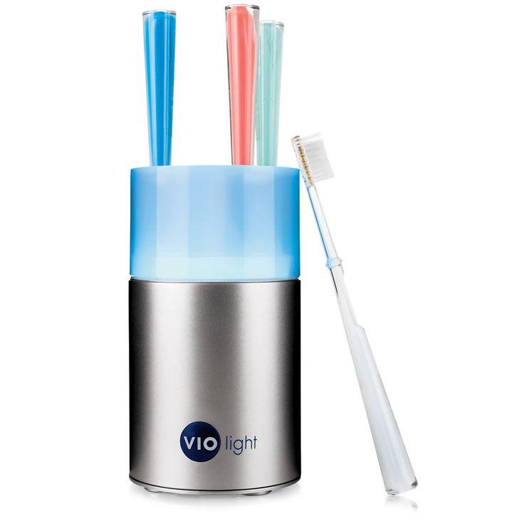 The Million Germ Eliminating Toothbrush Sanitizer - Hammacher Schlemmer