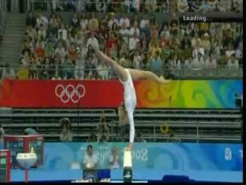 Nastia Liukin Olympic Event Finals: Beam