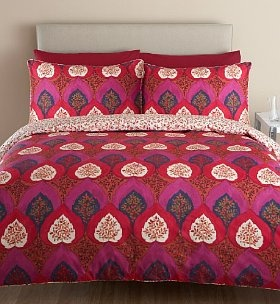 This Autumn Trees bedset from Marks and Spencer is the perfect way of bringing a sense of the outside in this season! We love the vivid autmnal leaves pattern as well as the fact that it's a practical buy - it's part of the easycare range, made from 50% cotton and 50% polyester, combining the softness of cotton with the easycare qualities of polyester! From £29.50.