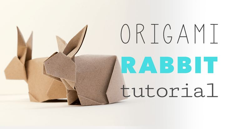 Learn how to fold a cute origami bunny rabbit for easter! These rabbits stand up making them a great table decorations and gifts! Step by step instructions.