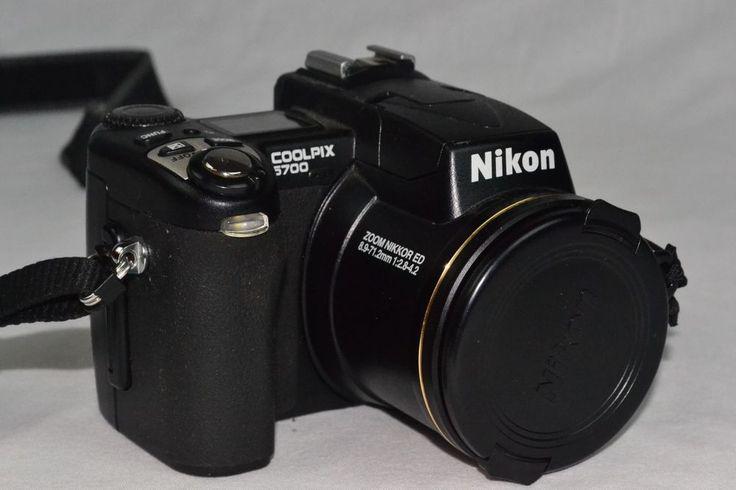 Nikon COOLPIX 5700 5.0 MP Digital Camera W/ NEW Battery / Guaranteed Working…