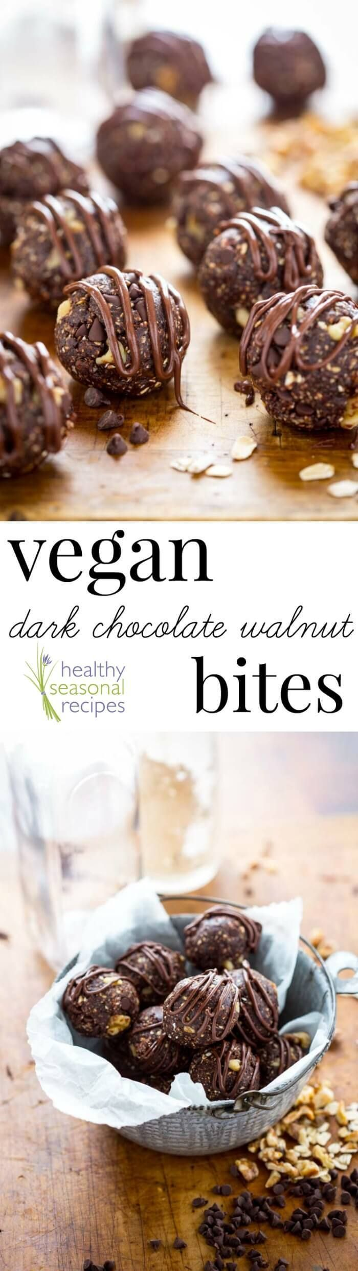 Sponsored: Healthy Seasonal Recipes : These Vegan Dark Chocolate Walnut Bites are a super simple and healthy snack and will satisfy your chocolate cravings in only 15 minutes! [..]