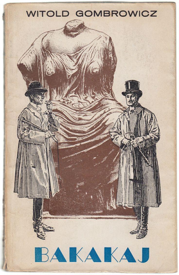 'Bakakaj', Kraków 1957, cover by Daniel Mróz.