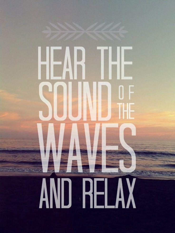 Tem trilha sonora mais relaxante que o som das ondas?