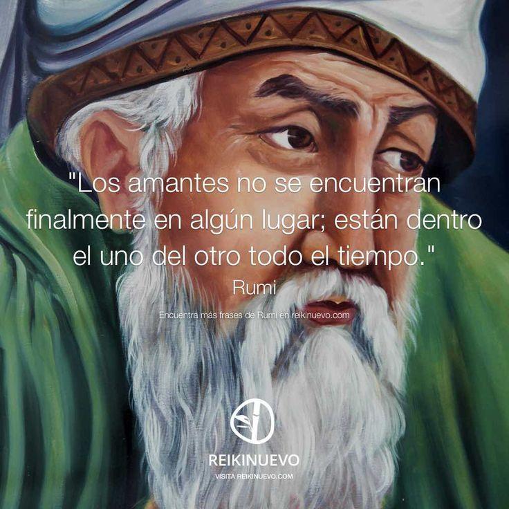 Rumi habla de los amantes y nos invita a reflexionar sobre la búsqueda del amor... http://reikinuevo.com/amantes-rumi/