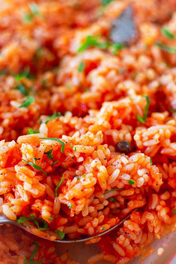 Greek Tomato Rice Ntomatorizo Vegan Gluten Dairy Free Real Greek Recipes Recipe Greek Recipes Authentic Tomato Rice Greek Dishes