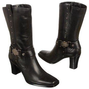 kwasiafrica.com » Harley Davidson Women`s Lindsey Boots Black