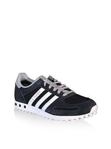 Oferta: 60€ Dto: -2%. Comprar Ofertas de adidas LA Trainer K - Zapatillas para niño, color negro / blanco / gris, talla 38 barato. ¡Mira las ofertas!