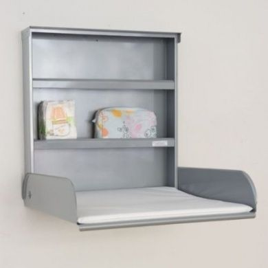 Changing table wall Fifi silver Bybo design