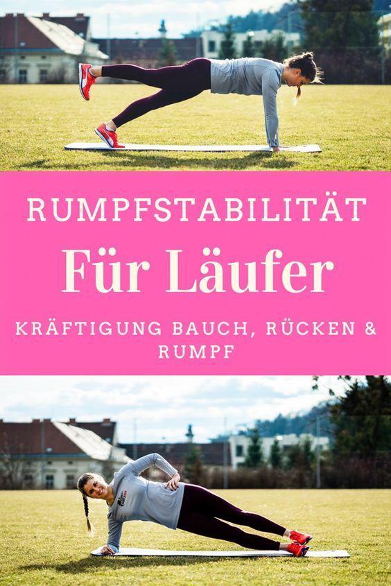 Rumpfstabilität für Läufer / Kräftigungsbauch / Vorbereitung Wfl World Run  – Fitness und Training Ideen