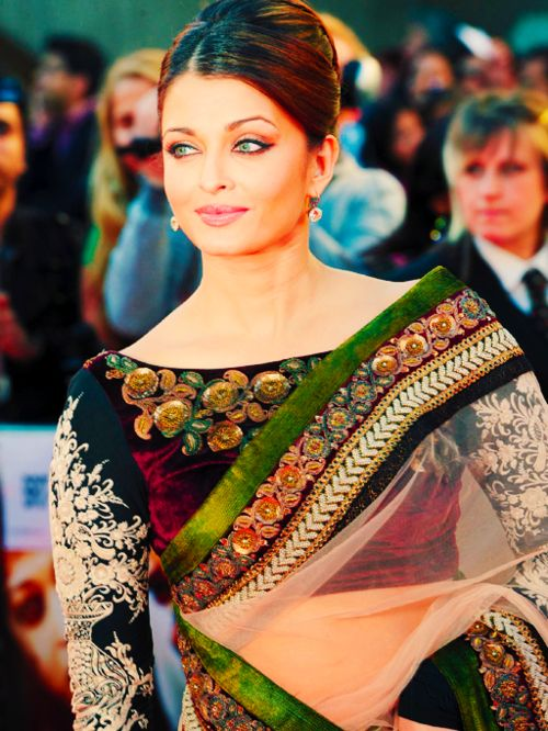 Actress Aishwarya Rai. #desi #fashion