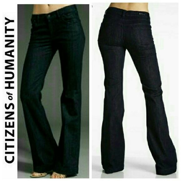 "*1hr SALE &DISCOUNTED SHIPPING* NWOT COH New without tags. Brand new, never worn. They just don't fit me.  Citizens of Humanity by Jerome Dahan.  Hutton #251 98% cotton 32"" inseam High Rise wide leg stretch (1) Citizens of Humanity Jeans Flare & Wide Leg"