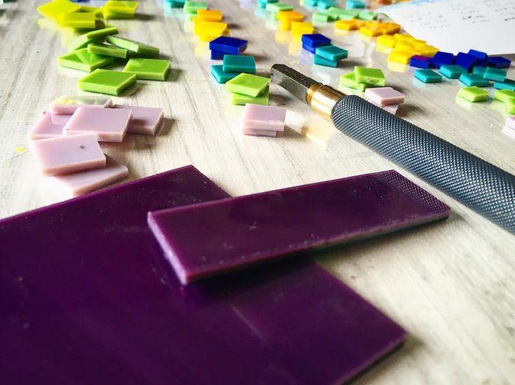 ediartglass work in progress-new collection make designer jewelry #glass#colors#jewelry#mothersday#purple#üvegékszer#minimal#glasscollection#spectrum#art#fusing#fused#colorful