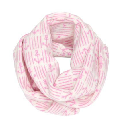 Pink Anchor Snood - €60  www.heatherfinn.com