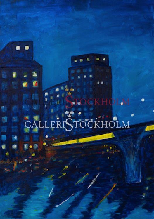 Plura Jonsson - Litografi - Kväll vid Sankt Eriksbron Köp direkt online på www.galleristockholm.se Beställ här! Klicka på bilden.