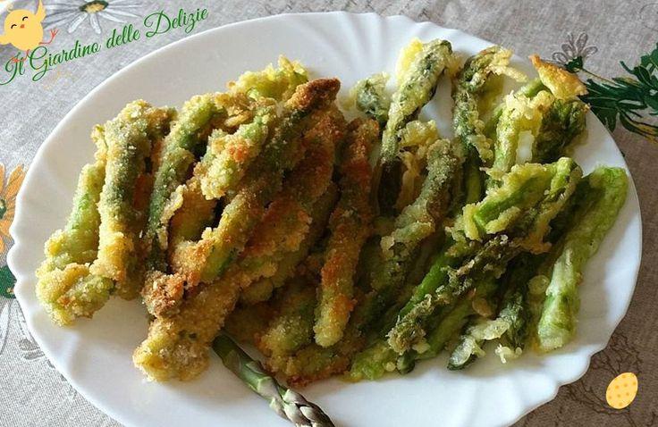 Asparagi+freschi+in+pastella+diverse