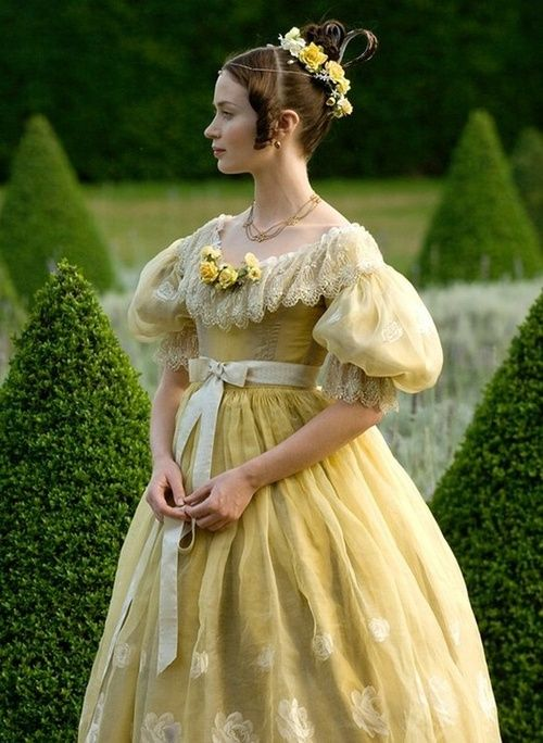 Emily Blunt as Queen Victoria in The Young Victoria