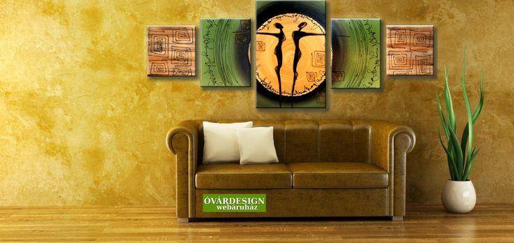 Egyhangúnak érzed az otthonod? Keltsd életre a falakat figurális vászonképekkel! További festett képek: www.ovardesign.hu