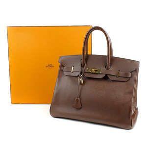LOT:853 | HERMES - a Togo 35cm Birkin Bag.