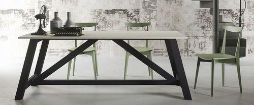 Table contemporaine / en bois / rectangulaire / écolabel FSC ALMA Aran
