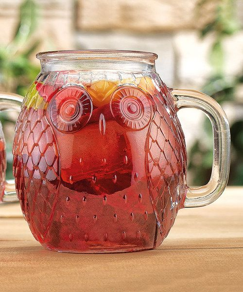 Look at this Owl Glass Mug - Set of Four on #zulily today!