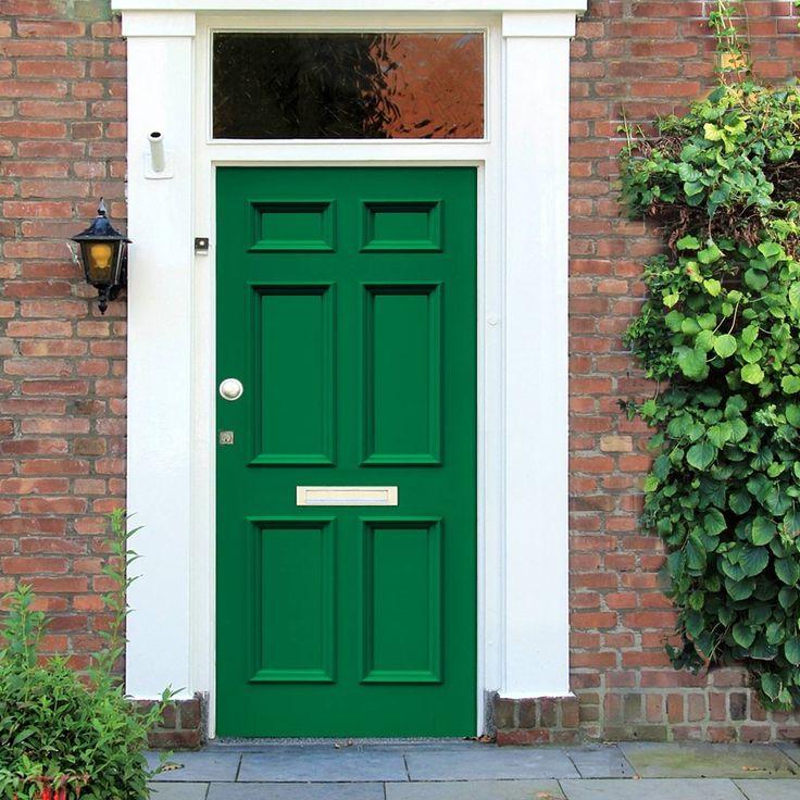 Made to order exterior door, Georgian Burns door - made to measure to suit your sizes. #elegantfrontdoor #victoriandoor #solidfrontdoor