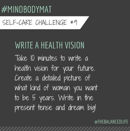 A really great practice to help you become the woman you want to be. Details on the blog... #mindbodymat
