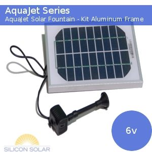 solar powered water fountain pump. This will work for my garden pond idea!