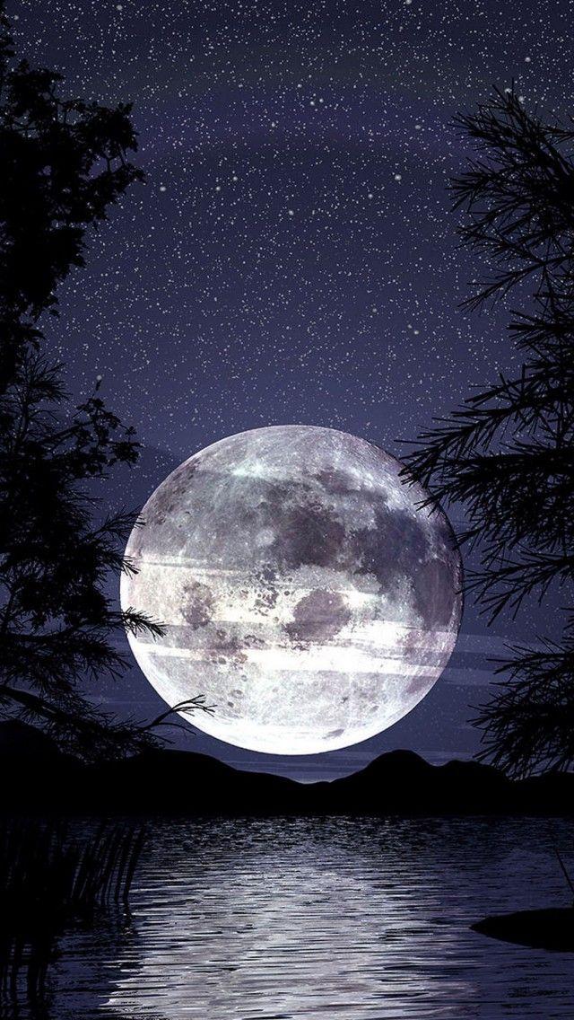 Beautiful Moon & Amazing Stars