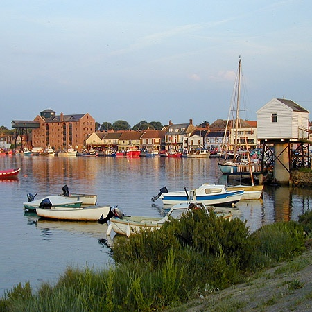 The harbour at Wells-next-the-Sea