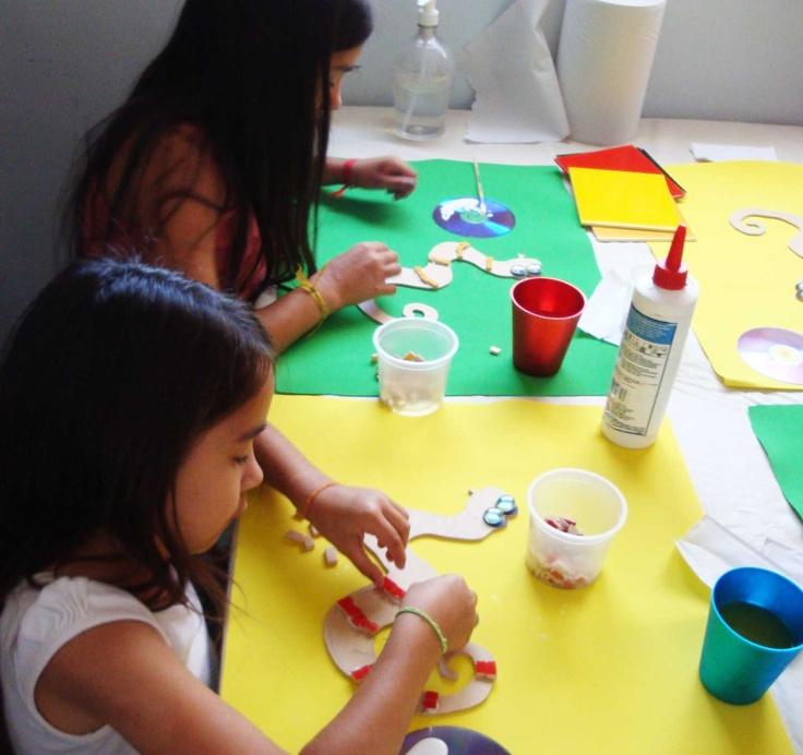 Seminario de Mosaico nivel inicial para niños