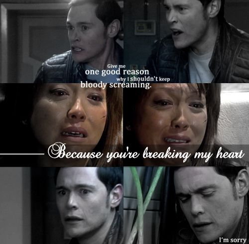 This was the saddest moment throughout the whole show!! Well other than Jack killing his grandson....