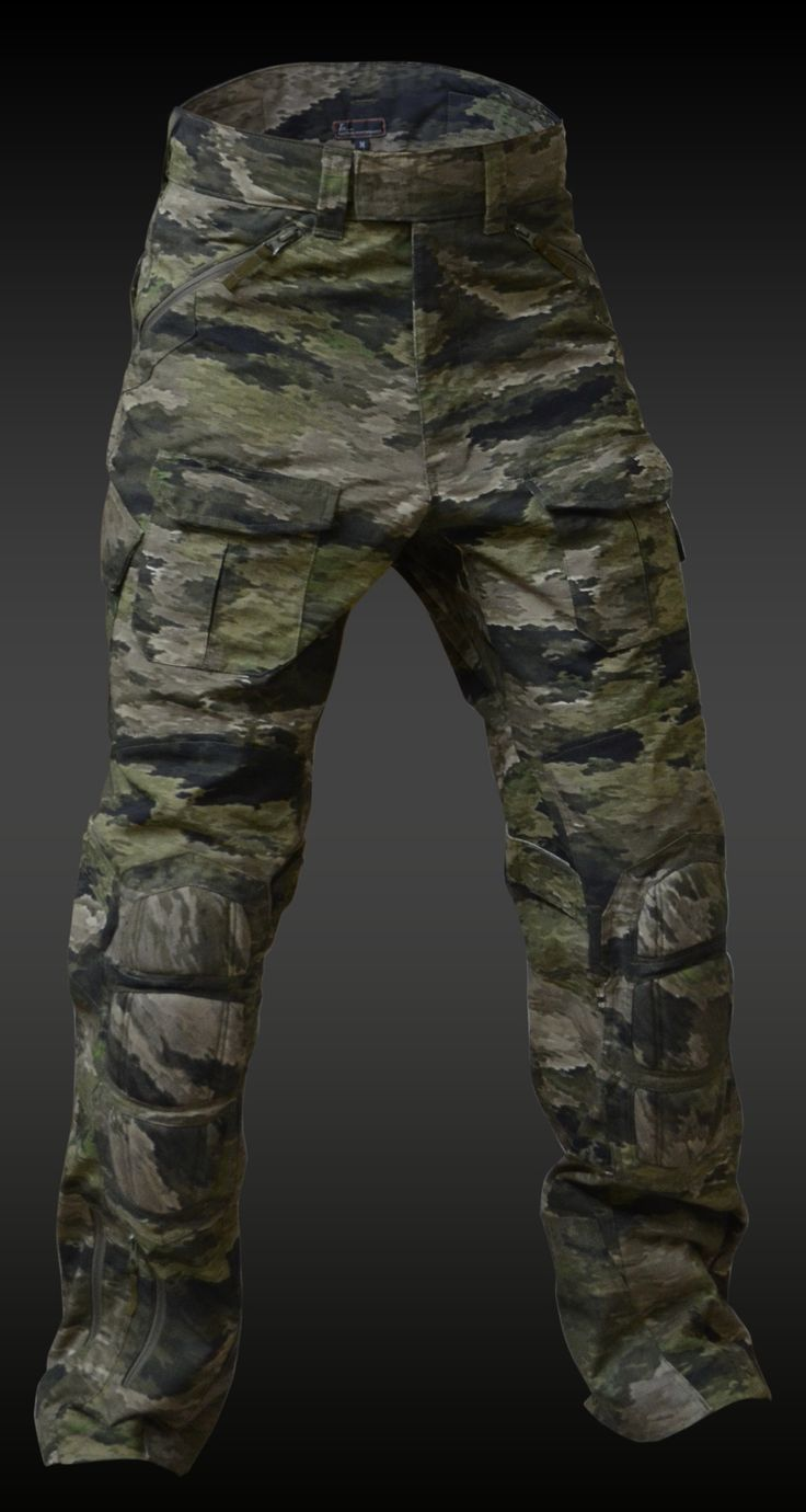 A-TACS iX TACTICAL COMBAT PANTS (TCP-R) | A-TACS iX GEAR | Tactical Gear