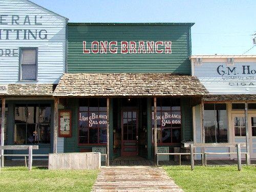 Long Branch Saloon Dodge City, Kansas