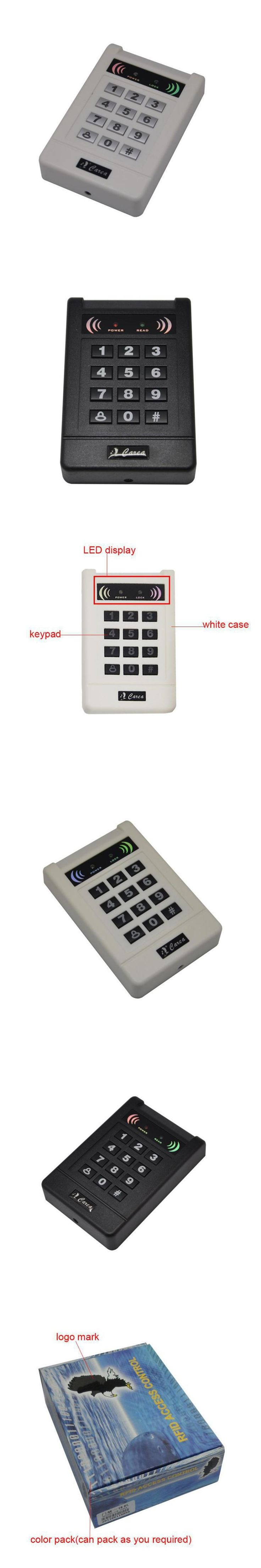 WG26 RFID 125KHZ ID Smart Card Keypad Reader Wiegand 26 / 34 Proximity Card Reader FoR Door Access Control Security System