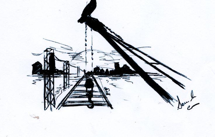 I treni per Sorgono   .. Stavano uccelli sui fili ferrati  quel fumo lontano  le nuvole vecchie  passano stanche ... stavano corvi  sui vecchi binari  dietro la pioggia tra lacrime,  al freddo ...passano treni,  passano anni, passa la vita  un altro anno è andato...  photo by Daniele Coccu  testi loybillyrock in sharing...