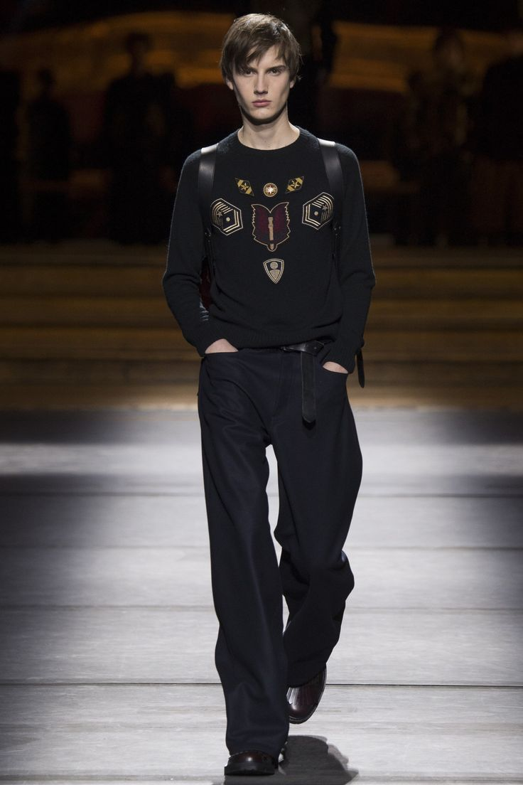 Dries Van Noten Embroidered Master 2705 'Insignia' Patch Jumper