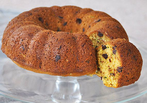 Chocolate Chip Zucchini Cake Recipe
