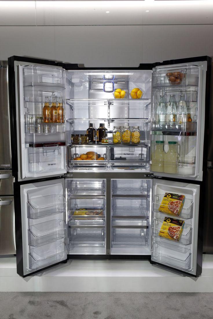 LG Double Door In Door Refrigerator 3 1 | Home Decor And Gadgets |  Pinterest | Refrigerator And Doors