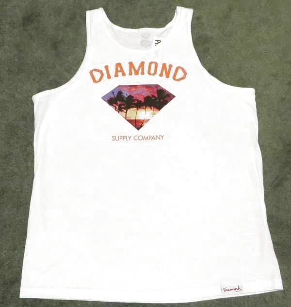DIAMOND SUPPLY COMPANY  TANK TOP SLEEVELESS T-SHIRT MEN'S XL #Diamond #GraphicTee